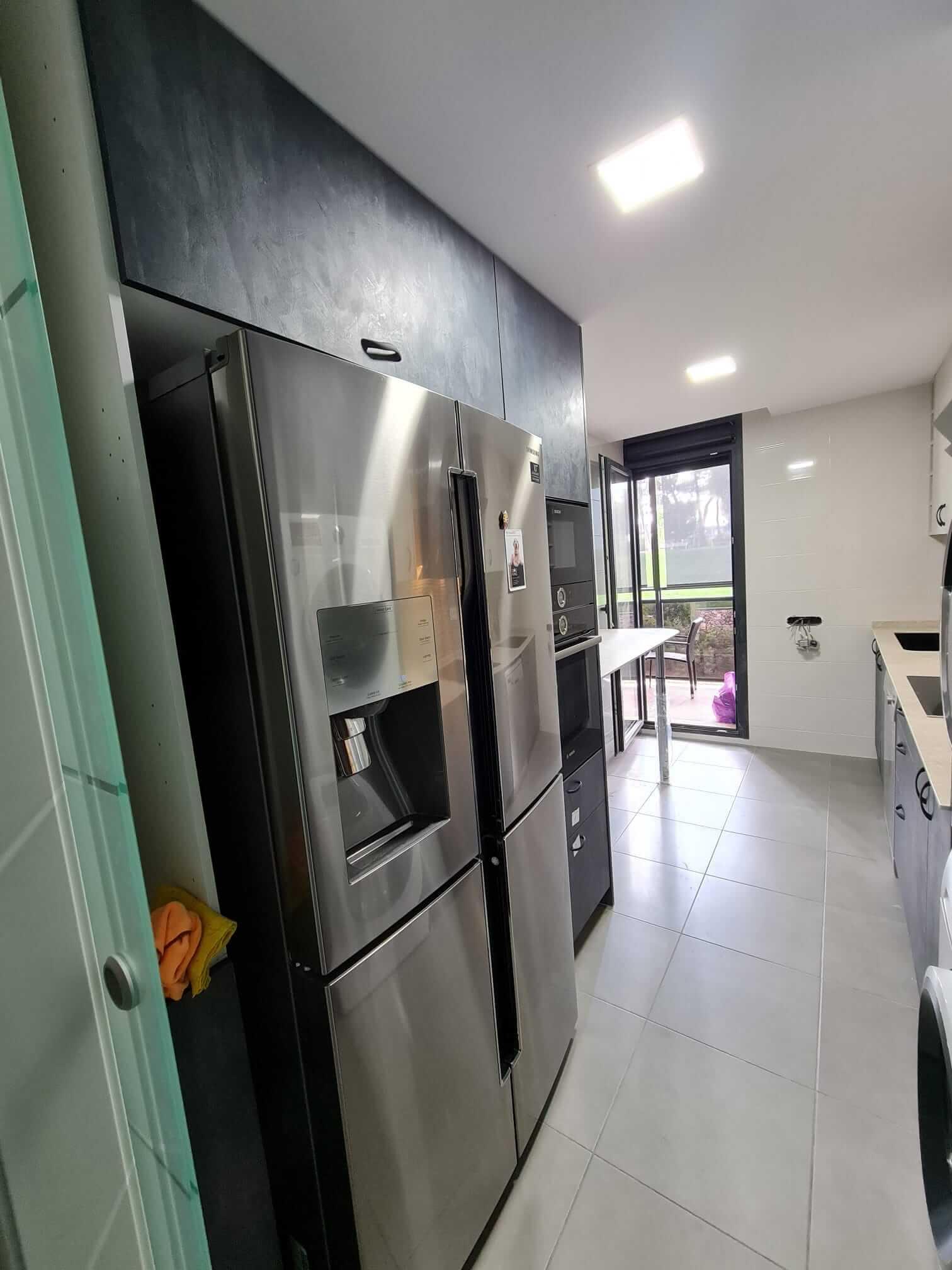 mueble integrado cocina
