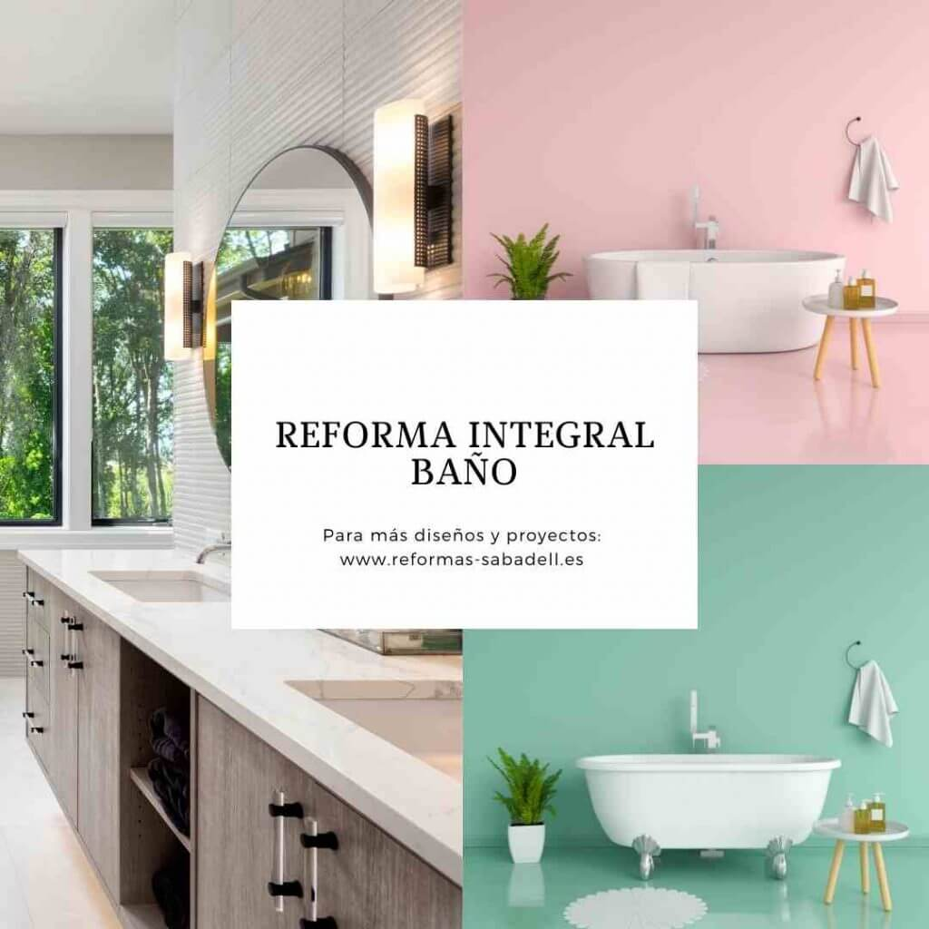 Reformar baño Sabadell
